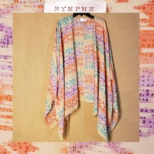 Nymphe multicolored OverLay One Size Fits Most